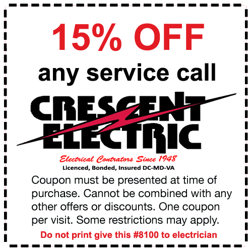 15% off electrician coupon